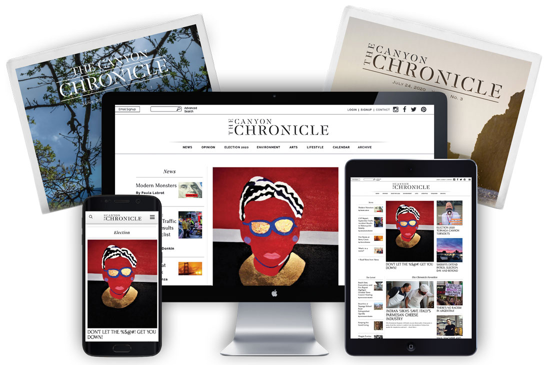 <b>TheCanyonChronicle</b>.com eCommerce Website Design